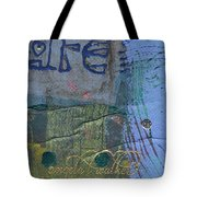 The Blue Lady Prays Tote Bag