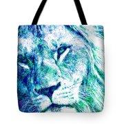 The Blue Lion Tote Bag