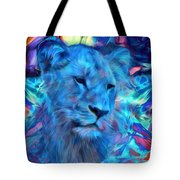 The Blue Lioness Tote Bag
