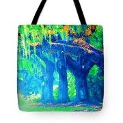 The Blue Live Oaks Tote Bag