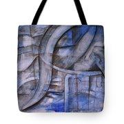 The Blue Machine Tote Bag