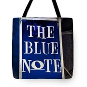 The Blue Note - Bourbon Street Tote Bag