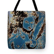 The Blue Nude Tote Bag