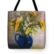 The Blue Pitcher Tote Bag