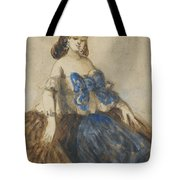 The Blue Ribbon Tote Bag