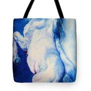 The Blue Roan Tote Bag by Marcia Baldwin