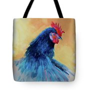 The Blue Rooster Tote Bag