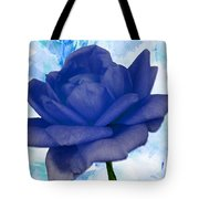 The Blue Rose Tote Bag