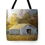 The Blue Shed Tote Bag