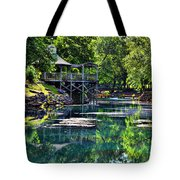 The Blue Spring Tote Bag