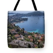 The Blue Waters Of Nice, France Tote Bag