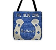 The Blue Zone Tote Bag