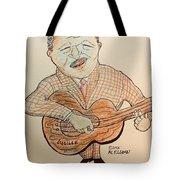 The Blues Man  Tote Bag