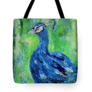 The Blues,peacock  Tote Bag