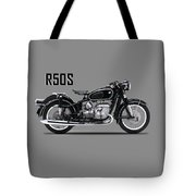 The R50s Motorcycle Tote Bag