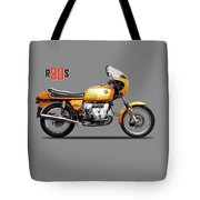 The R90s Motorcycle 1974 Tote Bag