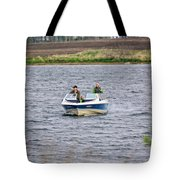 The Boater Tote Bag