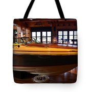 The Boathouse Interior Work 2 Tote Bag