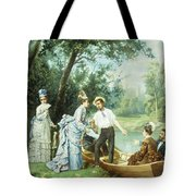 The Boating Party Tote Bag