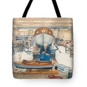 The Boatman Tote Bag