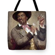 The Bone Player, 1856 Tote Bag