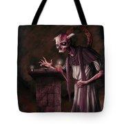 The Bone Priest Tote Bag