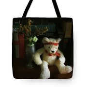 The Book Bear Tote Bag