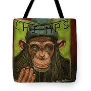 The Book Of Chimps Tote Bag