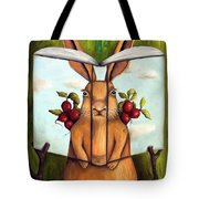 The Book Of Secrets 4-the Rabbit Story Tote Bag