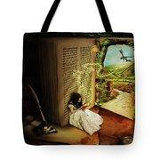 The Book Of Secrets Tote Bag