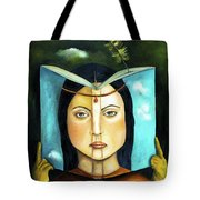 The Book Of Secrets Tote Bag