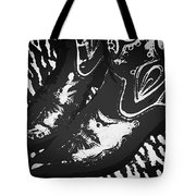The Boots Black Tote Bag