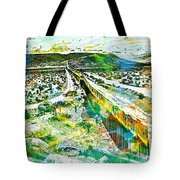 The Border Tote Bag