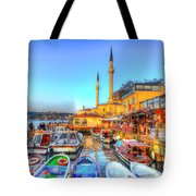 The Bosphorus Istanbul Tote Bag