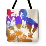 The Boss And The Big Man Tote Bag