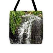 The Botanic Waterfall  Tote Bag by Lori Frisch