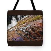 The Bottom Of Midway Geyser Basin Tote Bag