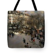 The Boulevard Des Italiens Tote Bag