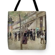The Boulevard Montmartre And The Theatre Des Varietes Tote Bag