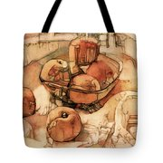 The Bountiful Feast - Asian Pears Tote Bag