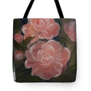 The Bouquet Of Peonies Tote Bag