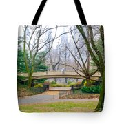 The Bow Bridge In Central Park New York City Tote Bag