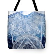 The Bow Building Tote Bag