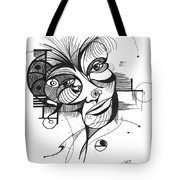 The Boxer Tote Bag by Nicholas Burningham