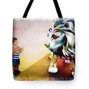 The Boy And The Lion 11 Tote Bag