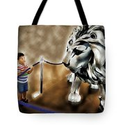 The Boy And The Lion 13 Tote Bag