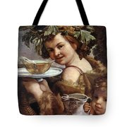 The Boy Bacchus 1620 Tote Bag
