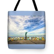 The Boy On The Seahorse Tote Bag