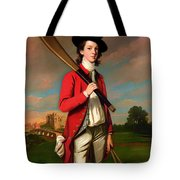 The Boy With A Bat - Walter Hawkesworth Fawkes Tote Bag