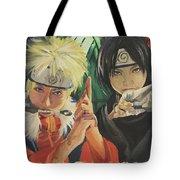 Kakashi's Rivals Wip Tote Bag by Baroquen Krafts